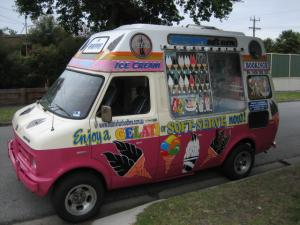 Mr Whippy truck enquire for your next event Melbourne